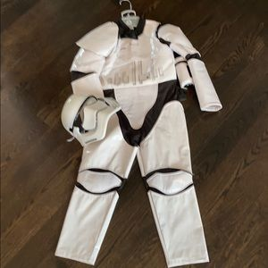 Boys Disney Storm Trooper Costume size 5/6, EUC!